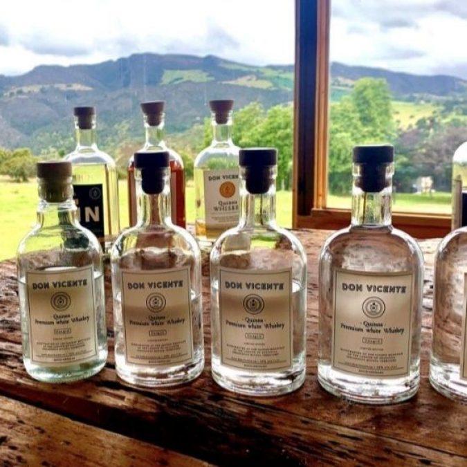 Ruta whisky quinua guatavita RUTAS DE ORIGEN FROSCH